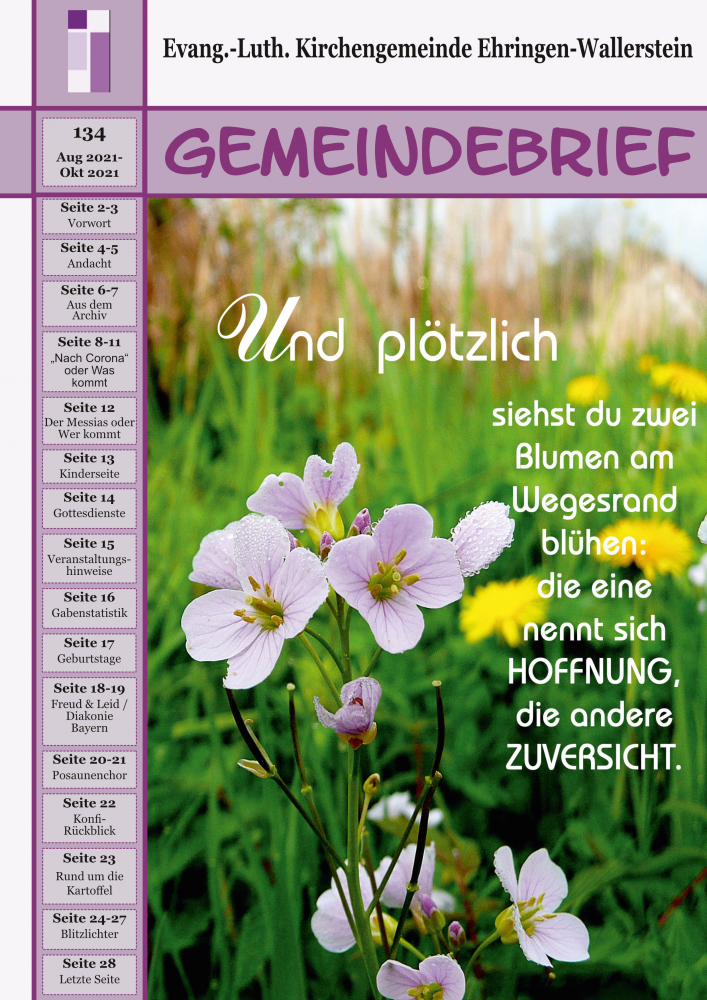 Gemeindebrief 134