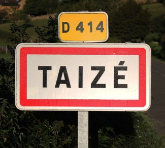 Taizé Ortsschild